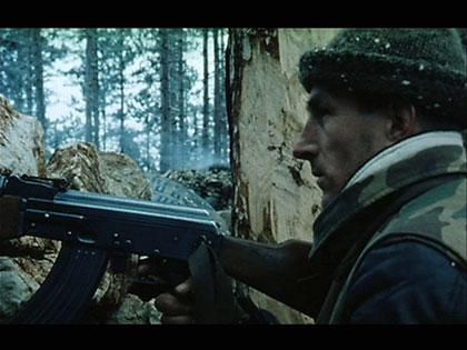 "Scène du film ""Bosna!"""