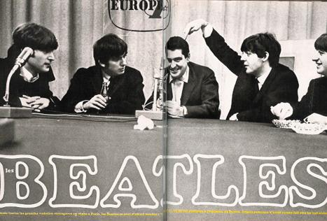 Daniel Filipacchi et les Beatles