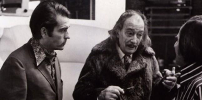 Daniel Filipacchi et Salvador Dali