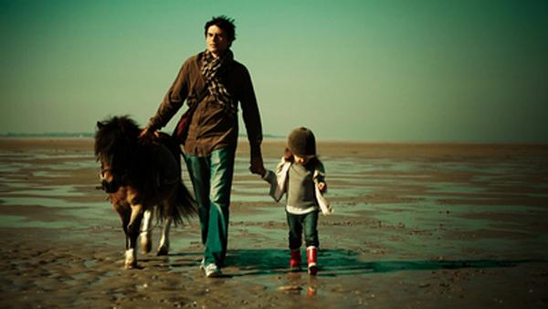 """Thierry Humbert et Mila Rose interprètent le père et la fille du film """"Ma part de bonheur"""""""