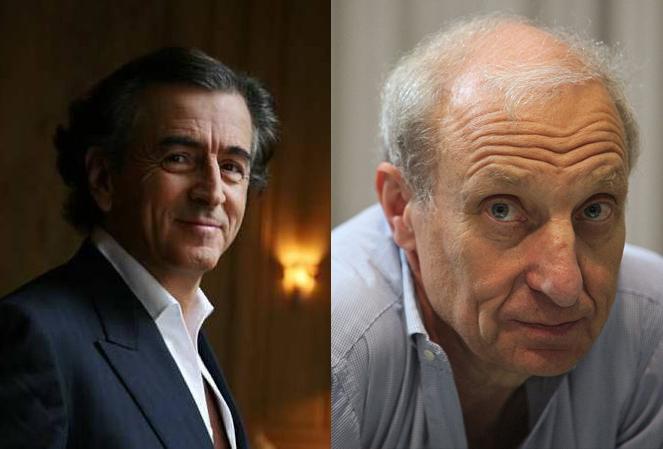 Bernard-Henri Lévy et Jean Hatzfeld