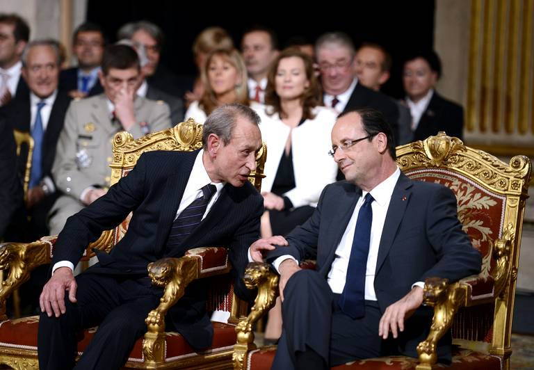 Bertrand Delanoë et Françoios Hollande