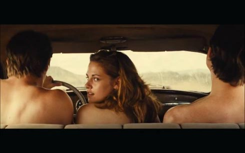 """Scène du film """"Sur la route"""" de Walter Salles"""