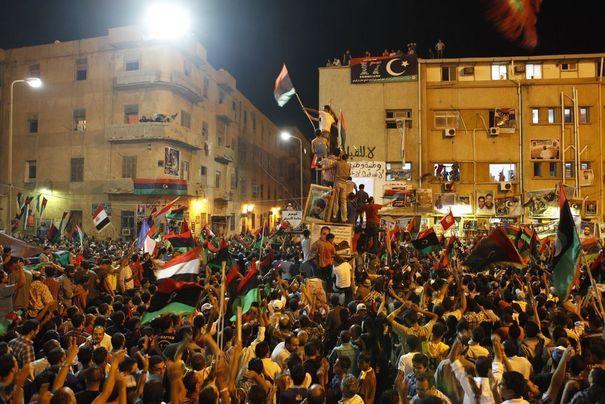 Place Tahrir à Benghazi