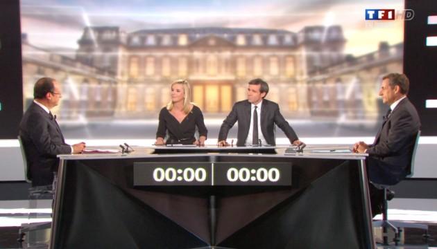 François Hollande et Nicolas Sarkozy se sont affrontés sur France 2 dans la traditionnel débat d'entre deux-tours.