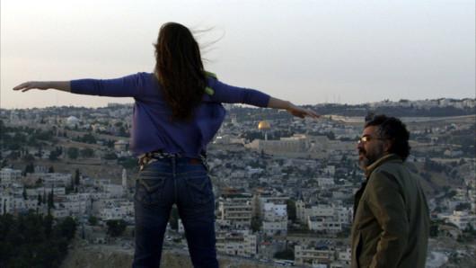 """Scène du film """"Les derniers jours à Jérusalem"""" de Tawfik Abu Wael"""