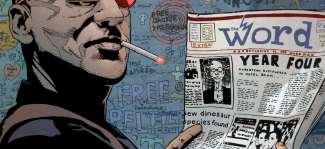 Spider Jerusalem, personnage inspiré du journaliste gonzo Hunter S. Thompson