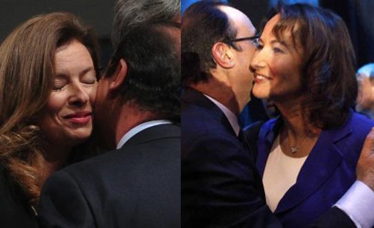 Valérie et François, Ségolène et François