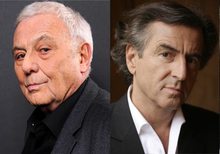 Philippe Sollers et Bernard-Henri Lévy