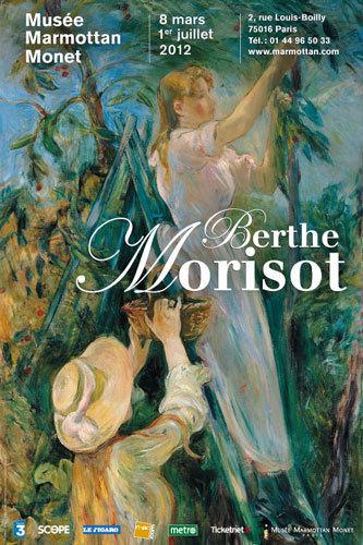 Affiche de l'exposition Berthe Morisot