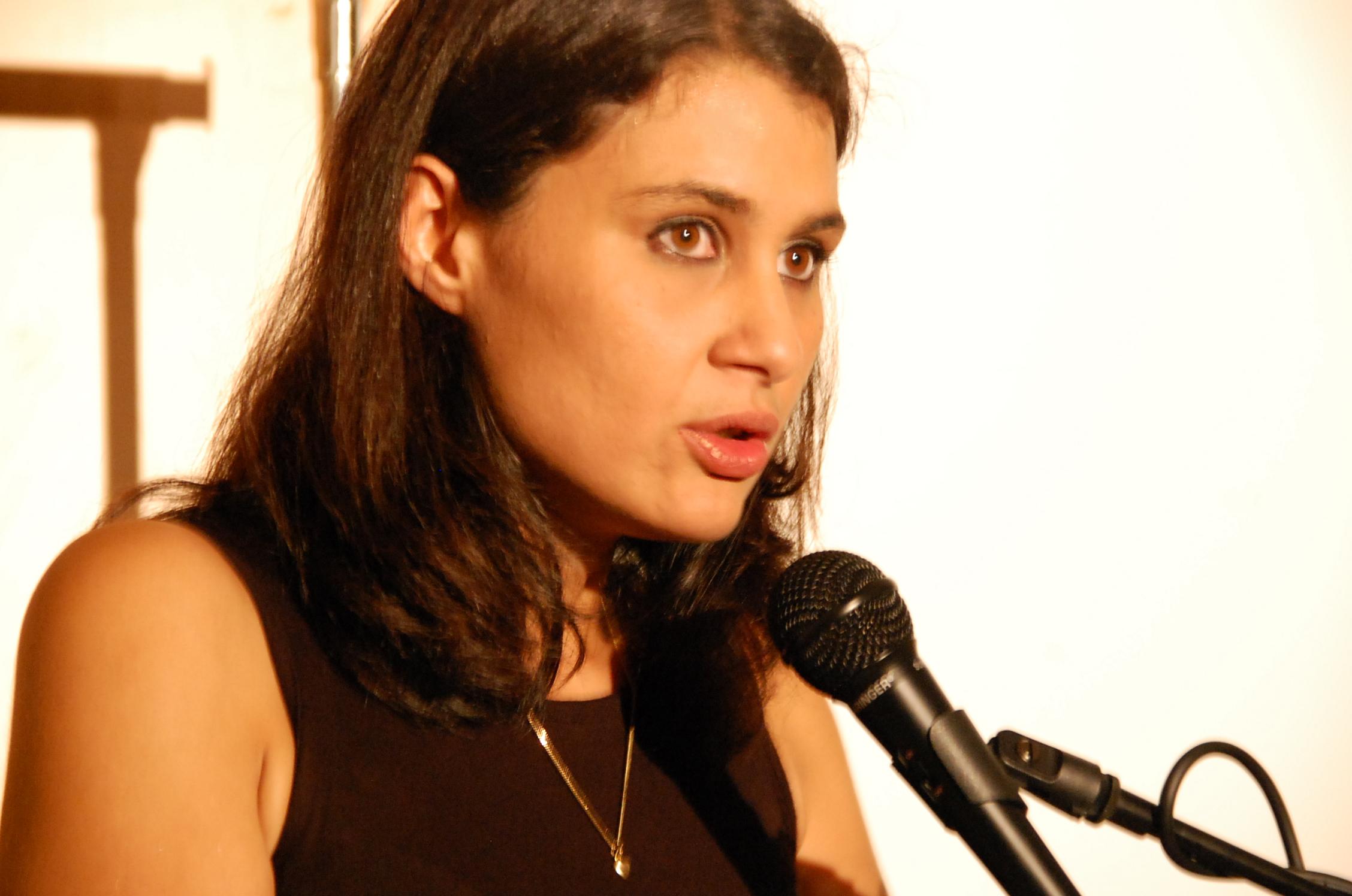 Cindy Leoni, 28 ans, le nouveau visage de SOS Racisme.