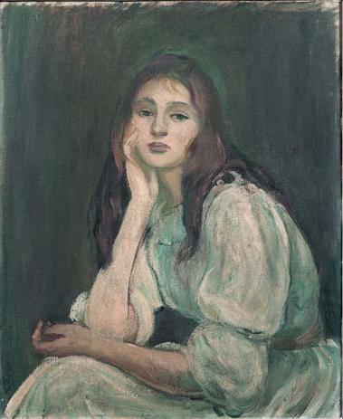 "Berthe Morisot, ""Julie rêveuse"", 1894"
