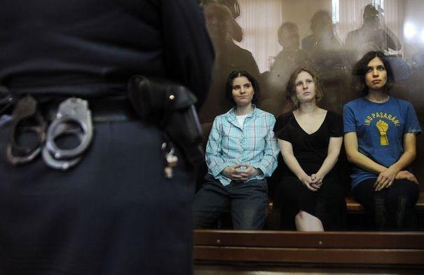 Leur crime ? Avoir réalisé, le 21 février, une performance dans la Cathédrale du Christ Saint-Sauveur de Moscou.