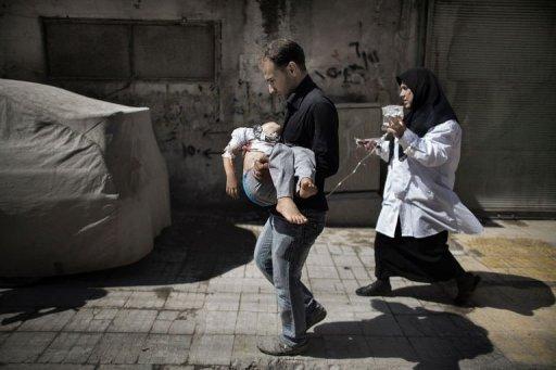"""""""Des civils sont massacrés au seul motif qu'ils font la queue devant une boulangerie."""""""