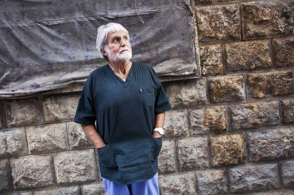 Jacques Bérès s'est rendu à plusieurs reprises en Syrie depuis le début de la révolution.