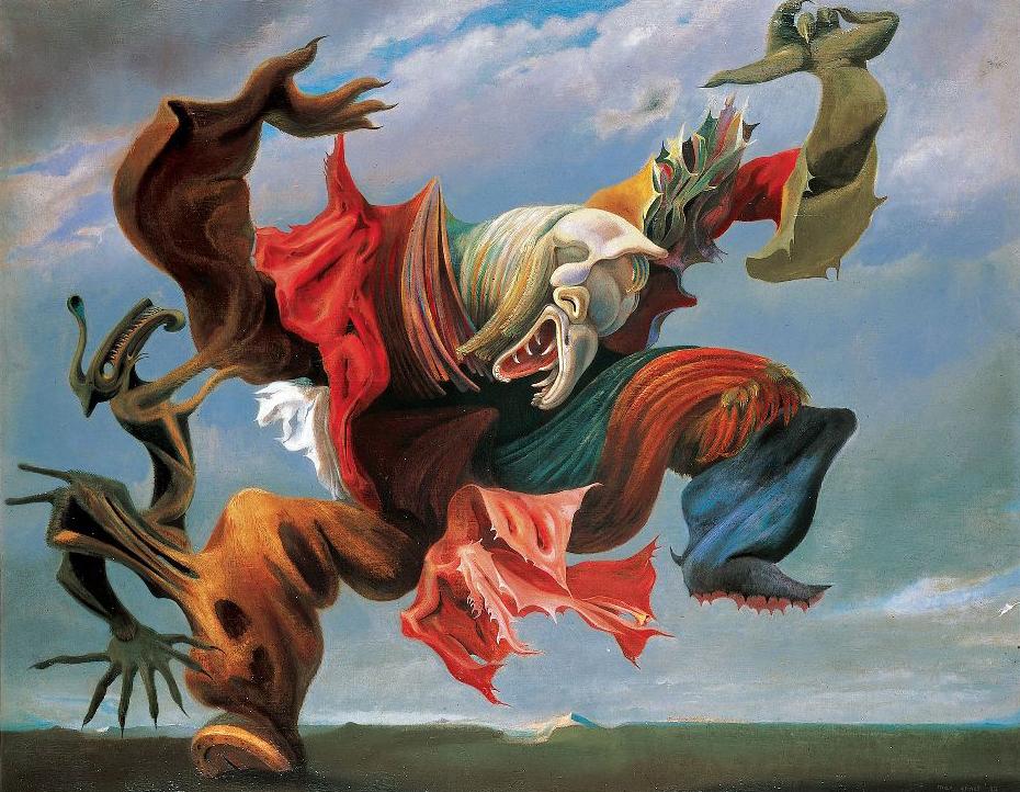 Ocell de Foc, de Max Ernst