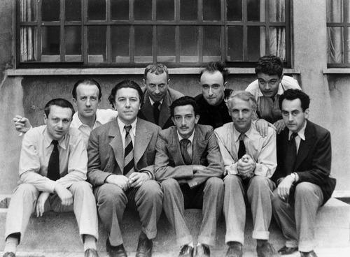 Le groupe des Surréalistes, par Anna Riwkin-Brick.