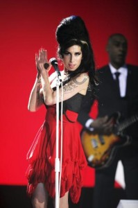 La fulgurante Amy Winehouse