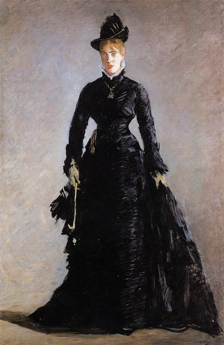 La Parisienne d'Edouard Manet, 1875, Stockholm, Nationalmuseum.