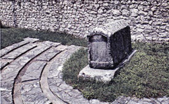 Tombeau de Rev Moche Danon