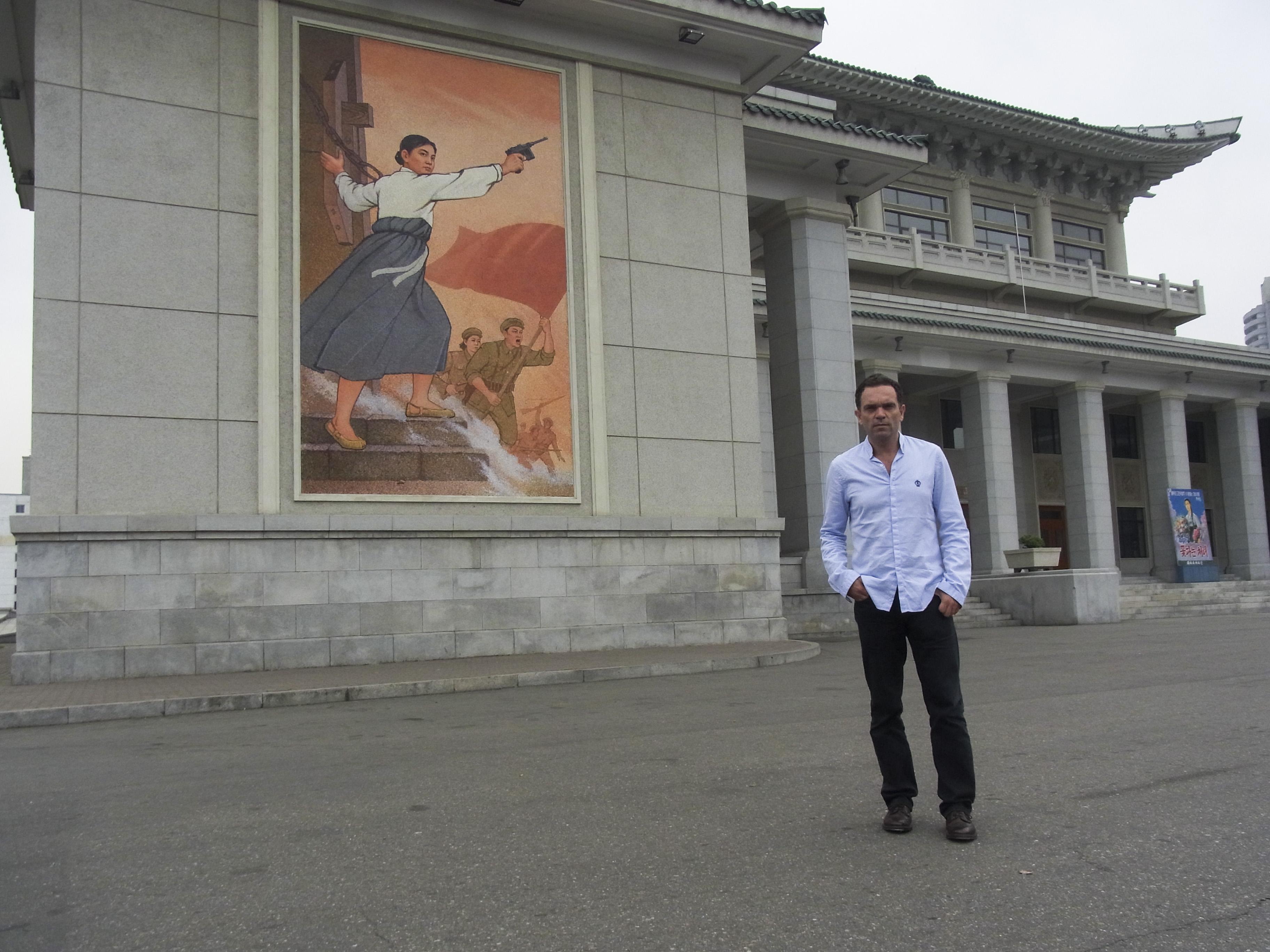 Yann Moix à Pyongyang
