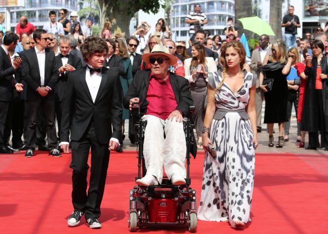 Bertolucci à Cannes en 2011.