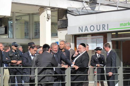 Naouri, l'épicerie casher attaquée à Sarcelles, le 19 septembre dernier.