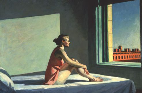 Morning Sun, 1952, huile sur toile, Columbus Museum of Art, Ohio (© Columbus Museum of Art, Ohio)