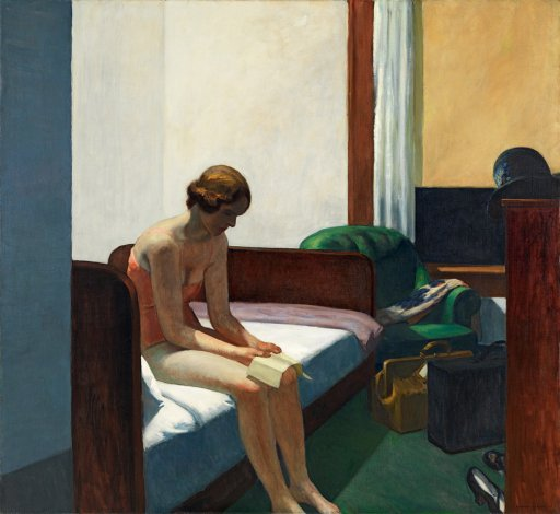 Hotel Room, 1931, huile sur toile, Madrid, Museo Thyssen-Bornemisza (© Museo Thyssen-Bornemisza, Madrid)