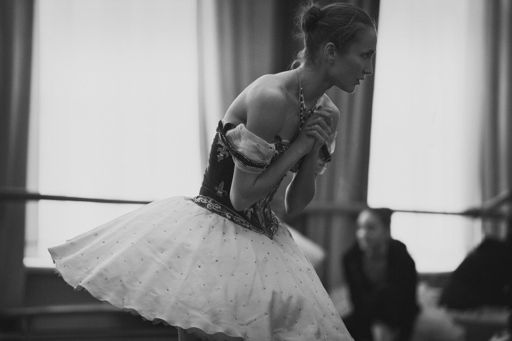 Une ballerine du Bolchoï, photographiée par Peter Lindbergh