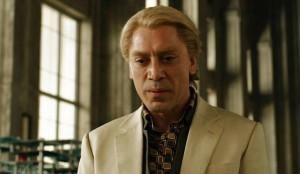 """Javier Bardem dans le rôle du """"méchant"""" dans Skyfall."""