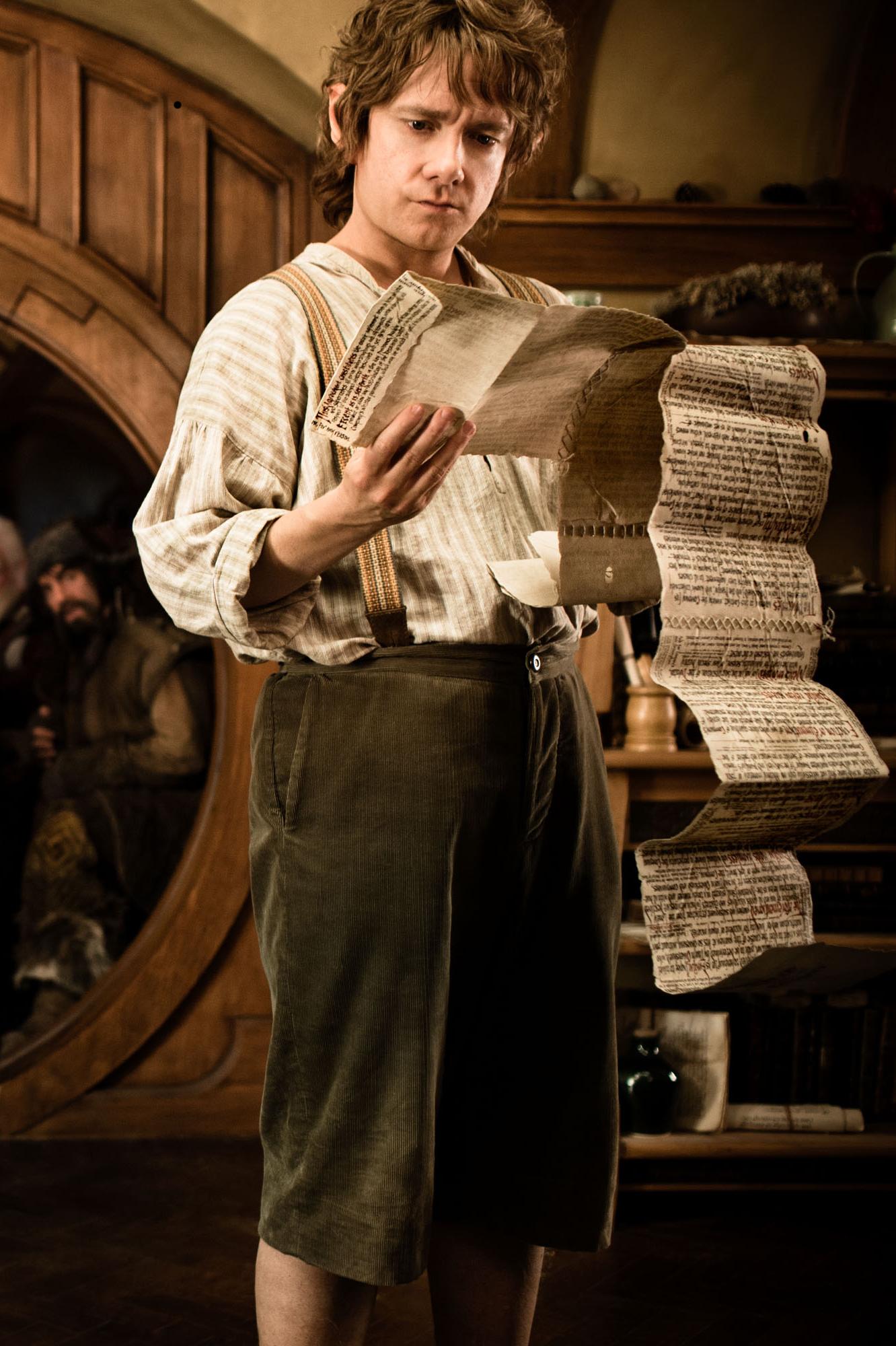 Martin Freeman est Bilbo dans le film de Jackson.