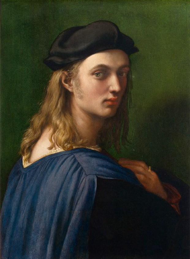 Portrait de Bindo Altoviti, 1514, huile sur bois, 60 cm × 44 cm, Washington, National Gallery of Art.