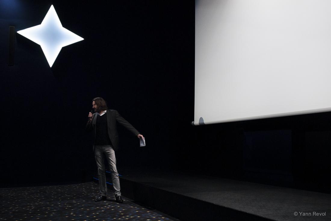 """Frédéric Beigbeder présentait ce mercredi la projection de """"Raphaël le Débauché"""" de Roger Vadim."""