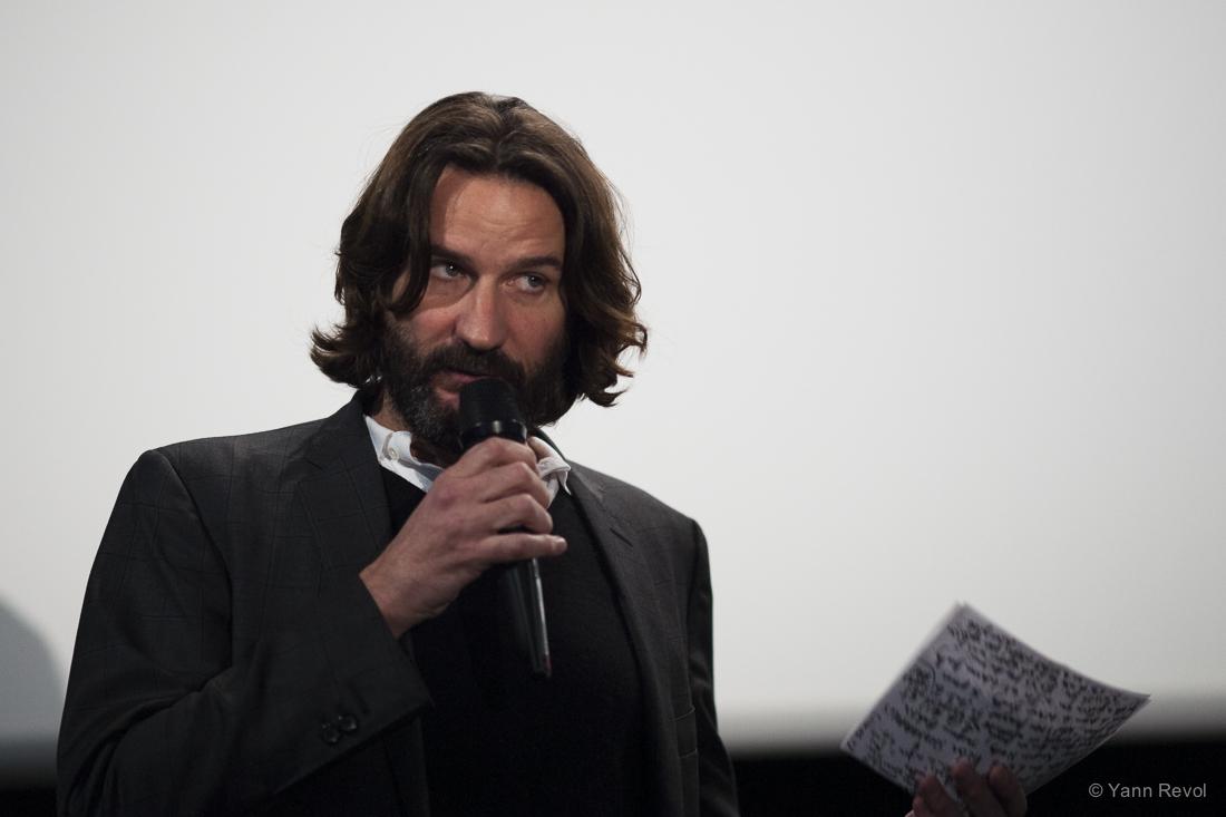Frédéric Beigbeder orchestre sa carte blanche au cinéma Saint-Germain.