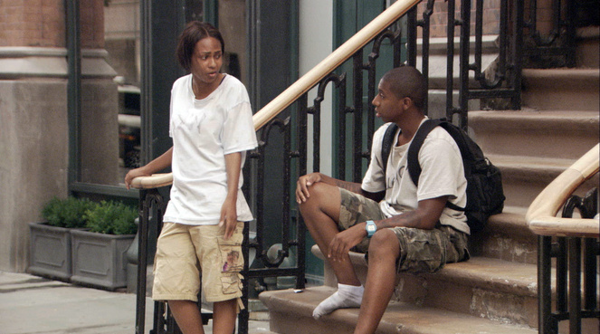 "Tashiana Washington et Ty Hickson interprètent Sophia et Malcolm dans ""Gimme the loot"" d'Adam Leon."
