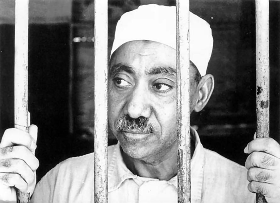 L'idéologue égyptien Sayyid Qutb.