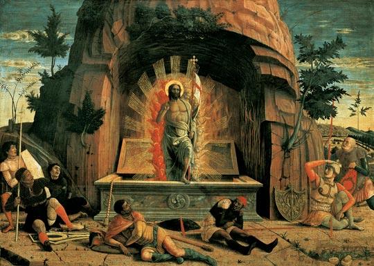 La Résurrection du Christ par Andrea Mategna (1459)