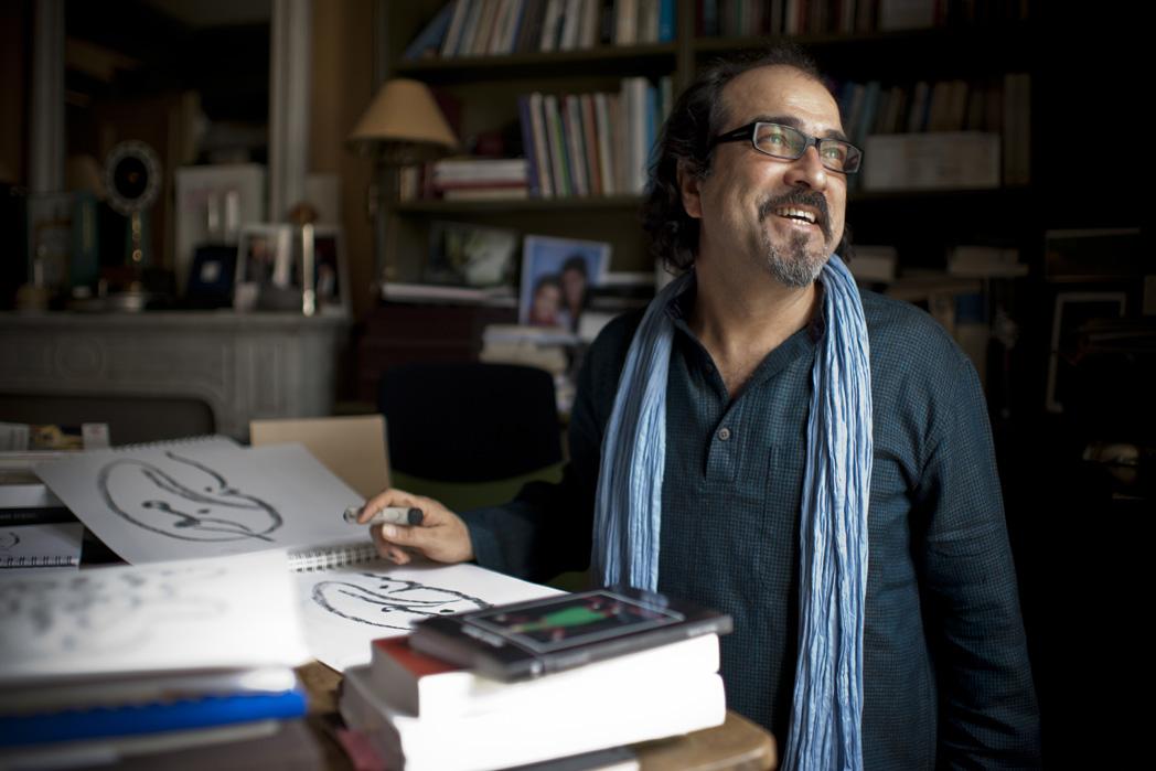 L'écrivain et cinéaste Atiq Rahimi @Yann Revol