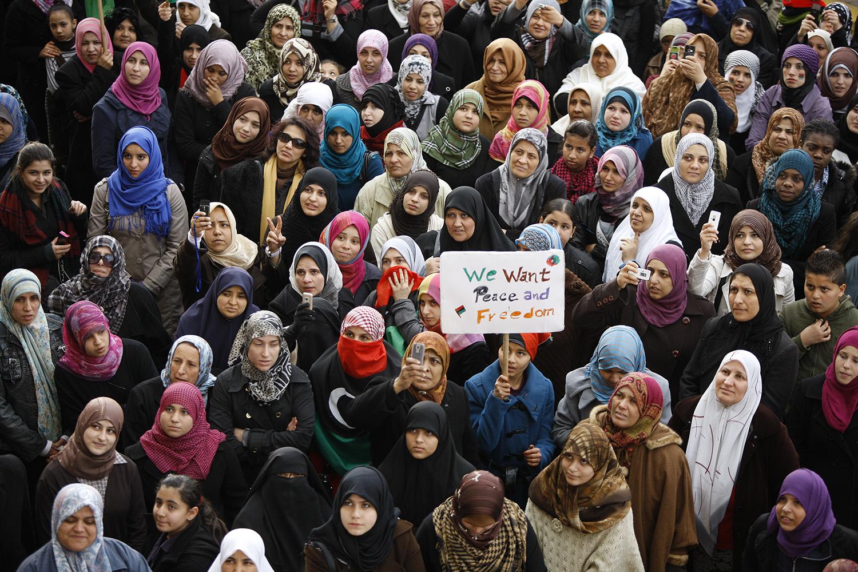 La révolte des femmes.
