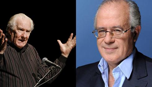 Alain Badiou et Jacques-Alain Miller