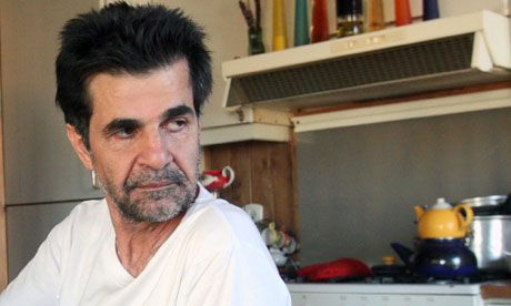 Le réalisateur iranien Jafar Panahi, immédiatement après sa sortie de prison.