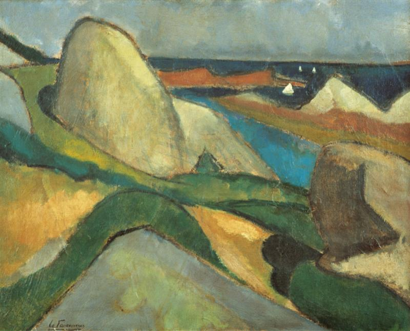 Ploumanac'h, 1908, Bergen, Museum Kranenburgh