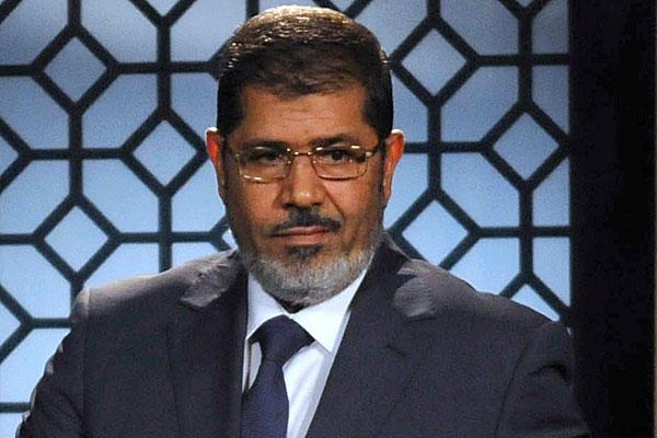 Le président égyptien, Mohamed Morsi.