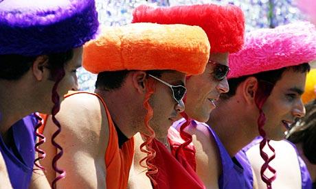 La communauté homosexuelle de Tel-Aviv est la plus importante du Moyen Orient.