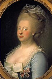 La véritable reine Caroline Mathilde du Danemark.