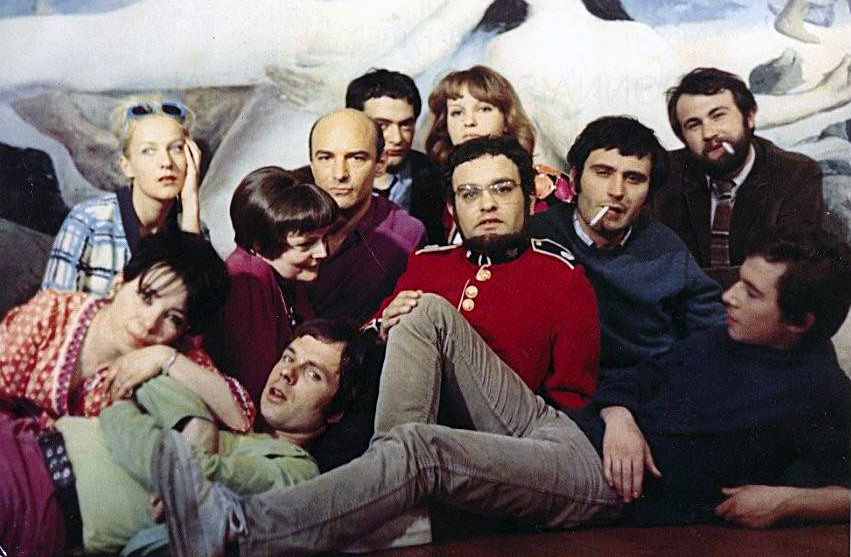 """Photo Edouard Boubat : """"Les paniques chez Arrabal en 1963"""""""