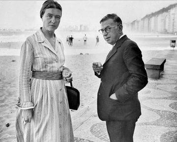 Simone de Beauvoir et Jean-Paul Sartre ont inspiré de nombreux biopics centrés sur leur relation de couple.
