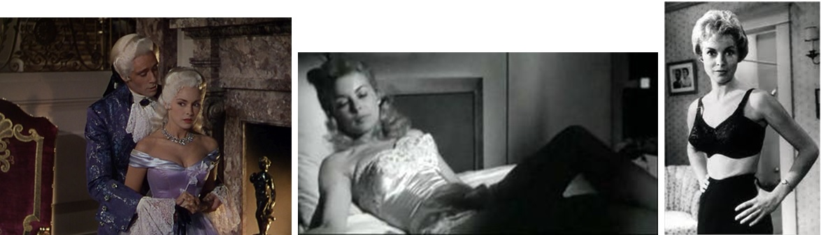 Janet Leigh dans Scaramouche, Touch of Evil et Psychose.