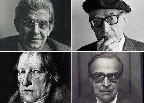Lacan, Queneau, Hegel, Kojeve